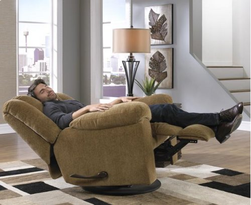 """Rocking"" Reclining Lvst - Beige"