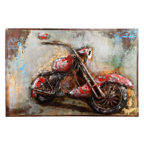 Motorcycle Mania Wall Décor