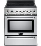 """Stainless Steel 30"""" Self-Cleaning Electric Range with Warming Drawer Product Image"""