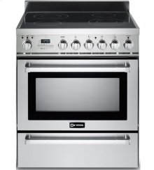 """Stainless Steel 30"""" Self-Cleaning Electric Range with Warming Drawer"""
