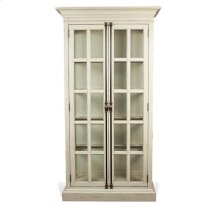 Huntleigh China Cabinet Vintage White finish