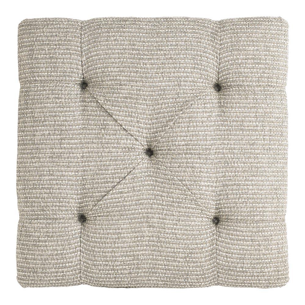 1000S00 In By Bassett Furniture In Bismarck, ND   Custom Ottoman Square  Ottoman W/Shelf