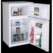 Model RA3100WT - 3.1 CF Two Door Counterhigh Refrigerator - White