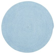 Lt. Blue Chenille Creations Round
