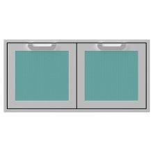 AGSD42 Double Storage Doors__BoraBora_