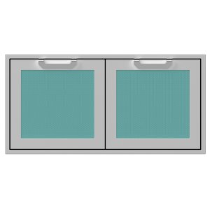 "Hestan42"" Hestan Outdoor Double Storage Doors - AGSD Series - Bora-bora"