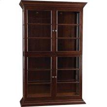 Wood Back 2 Display Cabinet