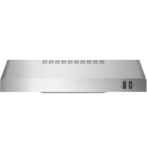 "GE® 24"" Under The Cabinet Hood"