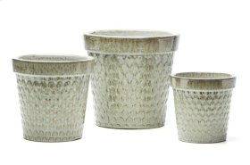 Pussy Willow Planter - Set of 3