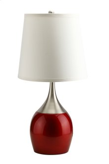 A8310 Red Table Lamp (Set of 4)
