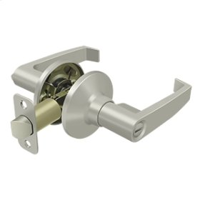 Linstead Lever Privacy - Brushed Nickel