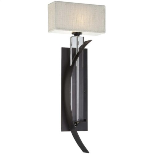 Kalmia Collection One-Light Incandescent Sconce, C