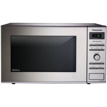 0.8 Cu. Ft. Small/Compact Countertop Microwave Oven with Inverter Technology - Stainless Steel - NN-SD372S