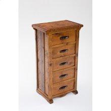 Mustang Canyon 5 Drawer Dresser - (inlaid Top)
