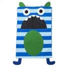 Blue Stripe Monster Laundry Bag Product Image