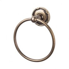 Edwardian Bath Ring Ribbon Backplate - German Bronze