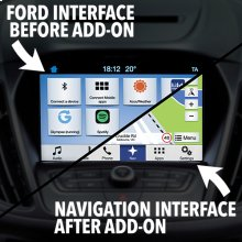 Integrated Navigation (Compatible with Ford Sync3)
