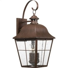 Millhouse Outdoor Lantern in Copper Bronze