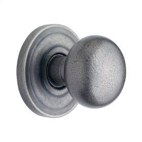Distressed Antique Nickel 5000 Estate Knob