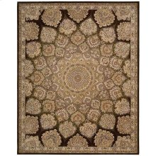 Nourison 2000 2318 Brn Rectangle Rug 7'9'' X 9'9''