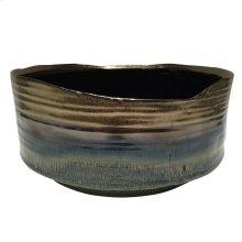 """Ceramic 10.75"""" Planter, Metallic Purple"""
