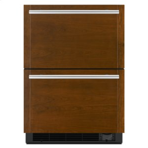 "Jenn-AirPanel-Ready 24"" Refrigerator/Freezer Drawers"