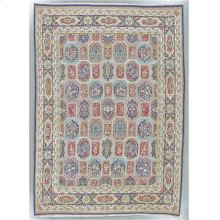 "KERMAN 000051273 IN MULTI BLUE 9'-10"" x 13'-11"""