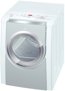 Nexxt 800 Series Vented Dryer with MistCare Silver and White Duo-Tone