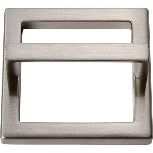 Tableau Square Base and Top 2 1/2 Inch - Brushed Nickel