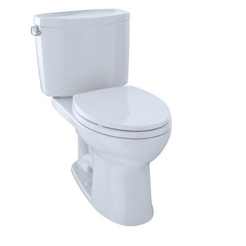 Drake® II Two-Piece Toilet, 1.28 GPF, Elongated Bowl - Cotton