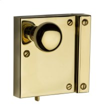 Lifetime Polished Brass 5604 Small Vertical Rim Lock