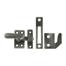 Window Lock, Casement Fastener, Small - Antique Nickel