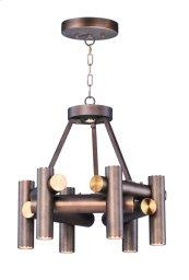 Tubular 7 Light LED Pendant