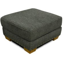 Walters Ottoman with Nails 6637N