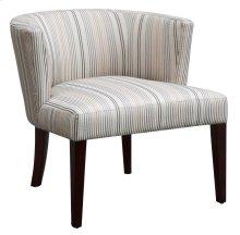 Maxwell Striped Lounge Chair