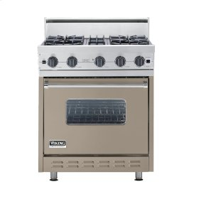 "Taupe 30"" Open Burner Range - VGIC (30"" wide, four burners)"