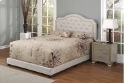 Brown Fabric Upholstered 3pc. Full Bed Product Image