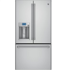 DISPLAY MODEL - GE Cafe™ Series ENERGY STAR® 22.2 Cu. Ft. Counter-Depth French-Door Refrigerator with Hot Water Dispenser