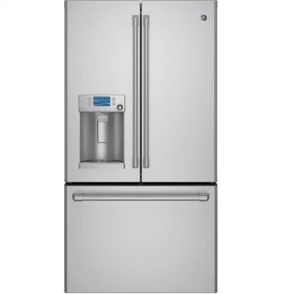 GE Cafe™ Series ENERGY STAR® 22.2 Cu. Ft. Counter-Depth French-Door Refrigerator with Hot Water Dispenser Product Image