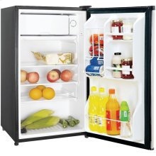 3.5 Cubic-ft Refrigerator (Stainless Look)