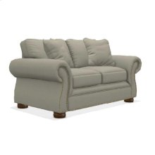 Pembroke Loveseat w/ Brass Nail Head Trim