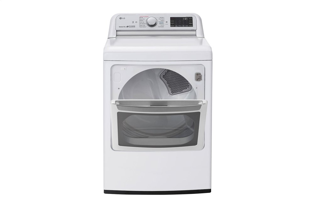 7.3 cu.ft. Smart wi-fi Enabled Electric Dryer with TurboSteam™ Photo #4