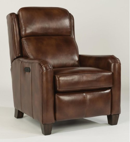 Poet Leather Power High-Leg Recliner with Power Headrest