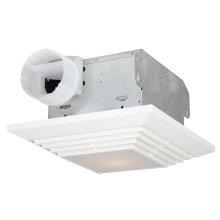 90 CFM Bathroom Exhaust Fan Light