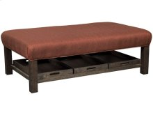 Craftmaster Living Room Stationary Ottomans, Cocktail Ottomans