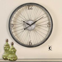 Spokes Wall Clock