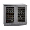 "U-Line Modular 3000 Series 36"" Wine Captain(r) Model With Integrated Frame Finish And Double Doors Door Swing (115 Volts / 60 Hz)"