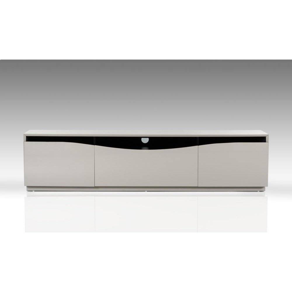 Modrest Darren - Modern Glossy Grey TV Unit