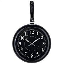 Pan Wall Clock in Black