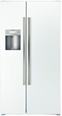 """36"""" Counter-Depth Side-by-Side Refrigerator 500 Series - White"""